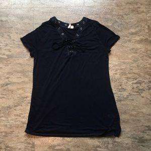 """Basic """"Navy Blue"""" shirt"""